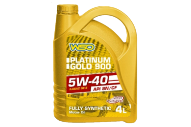 WSO PLATINUM GOLD 900 FULLY SYNTHETIC SAE 5W-40