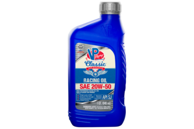VP CLASSIC NON-SYNTHETIC RACING OIL 20W-50