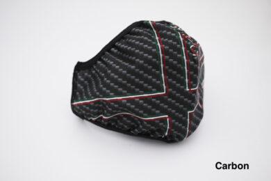 Alfa Romeo Face Mask – Carbon