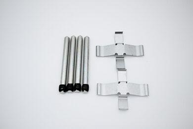 Rear Brake Pad Retaining Pin and Spring Set