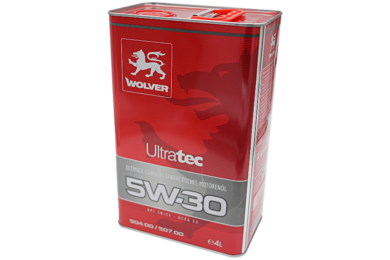 Wolver Ultratec C3 5W-30/5W-40 Engine Oil 4L Tin