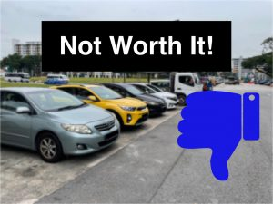 Why it's not worth owning a car in Singapore